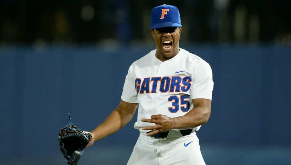 the best attitude 9718b c3e0f Florida Gators baseball blanks No. 1 Seminoles ...
