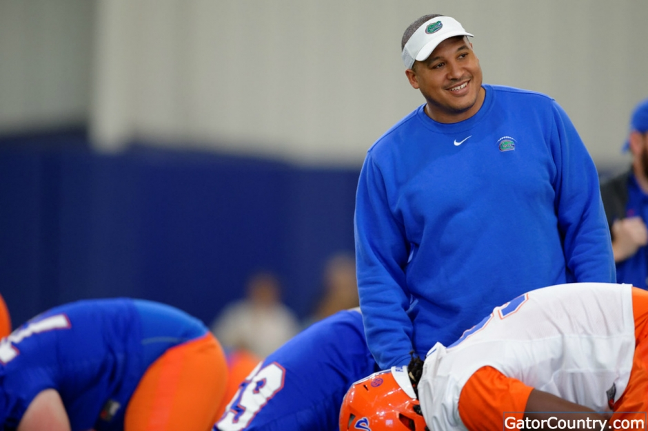 Florida Gators running backs coach JaJuan Seider- 1280x853