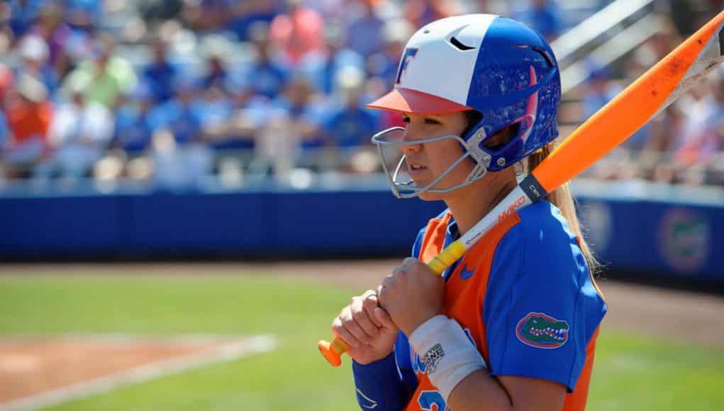 Florida Gators softball player Nicole DeWitt in 2017- 1280x853