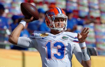 What is the Florida Gators quarterback battle like?