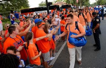 Heggie making strides after redshirt season for the Florida Gators
