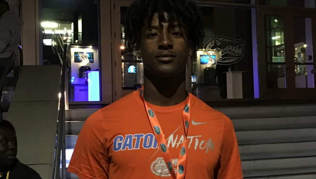 Florida Gators recruiting commit 2019 WR John Dunmore- 1280x960