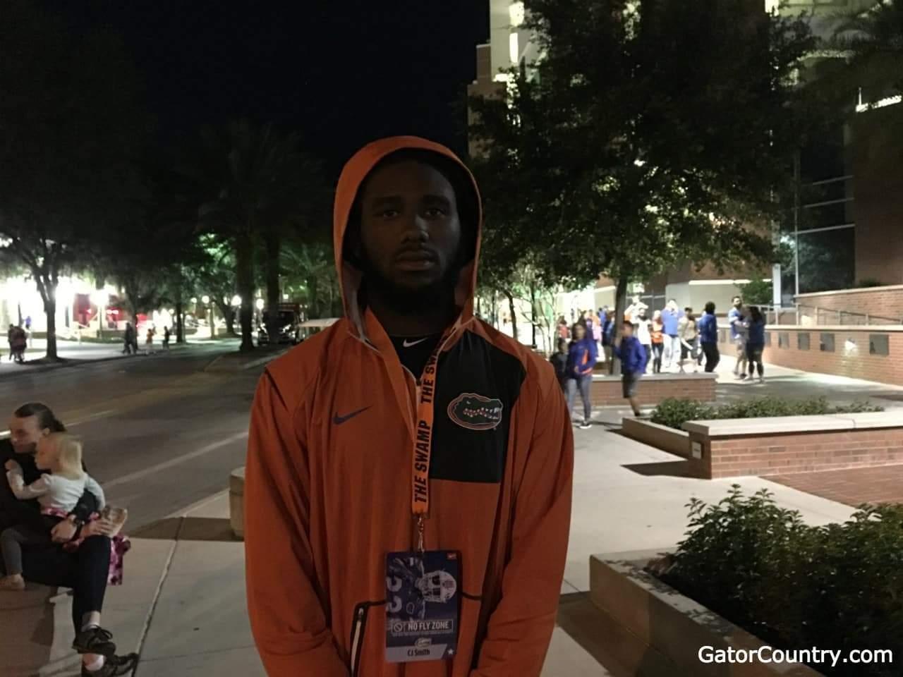 Florida Gators recruiting safety commit CJ Smith- 1280x960