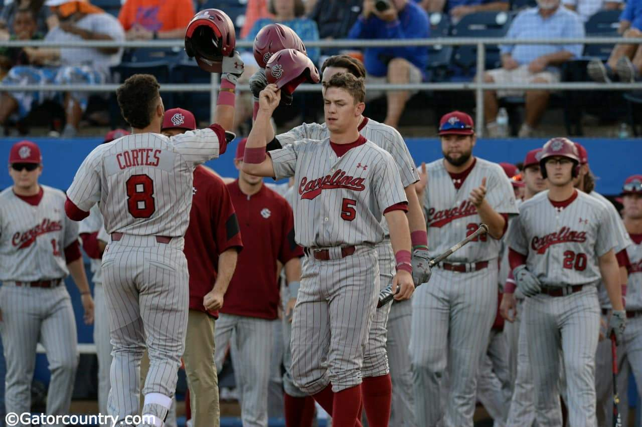 Gamecocks even series with 4-2 win over Florida Gators
