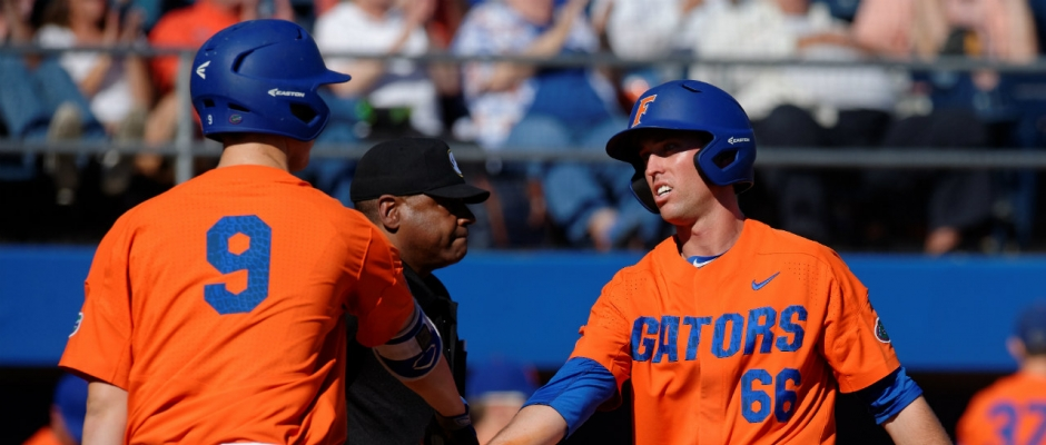 Florida Gators' bats explode to take series at Vandy
