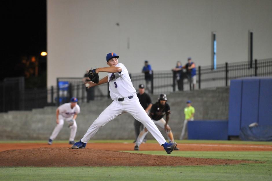 University of Florida freshman Garrett Milchin earns his first career save in a win over FAMU- Florida Gators baseball- 1280x850