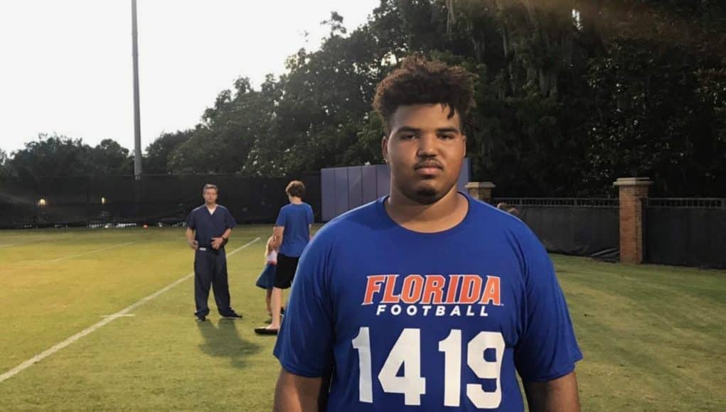 2019 Florida Gators recruiting OL commit Andrew Coker- 1280x960
