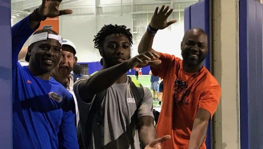 Florida Gators recruiting target DB Randy Russell at Florida- 1280x960