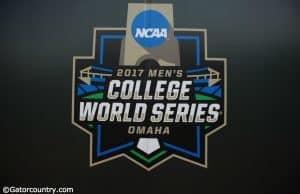 The 2017 College World Series logo- Florida Gators baseball- 1280x850
