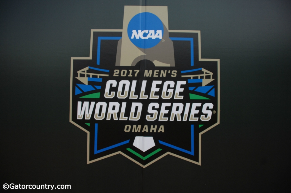 The 2017 College World Series logo- Florida Gators baseball- 1280x850