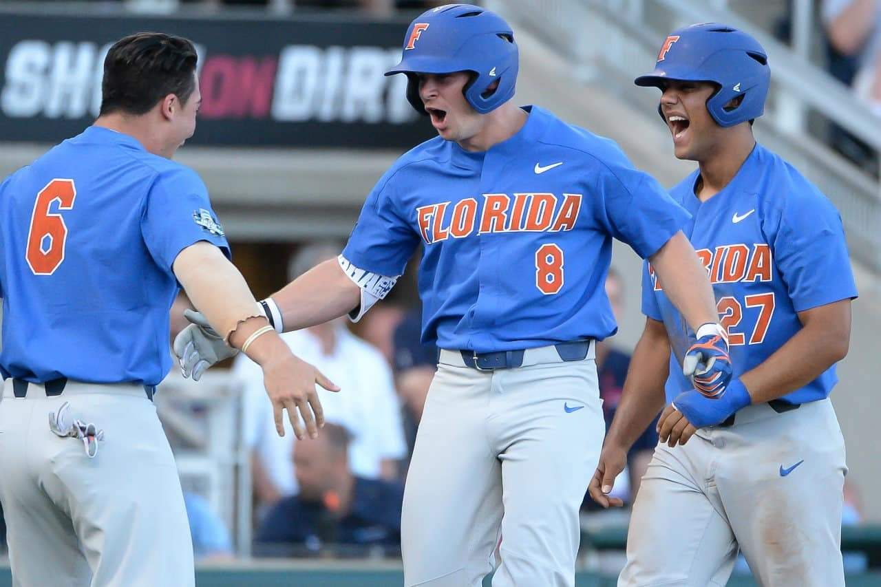 Florida Gators revelling their underdog role in College World Series
