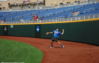 Horvath's throw cemented in Florida Gators history