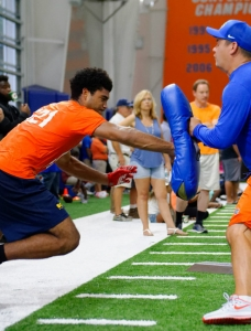 Lang had been ready to commit to the Florida Gators