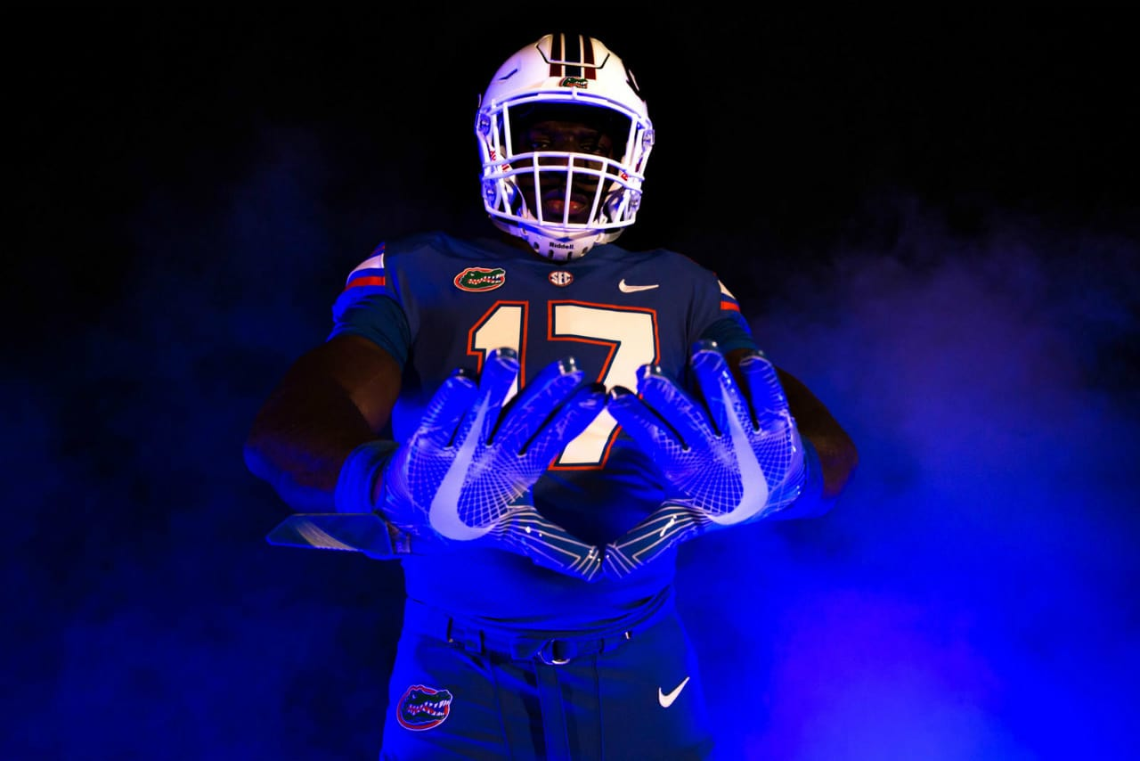best loved c0a4a 31faa Nike unveils new uniforms for Florida Gators game vs ...