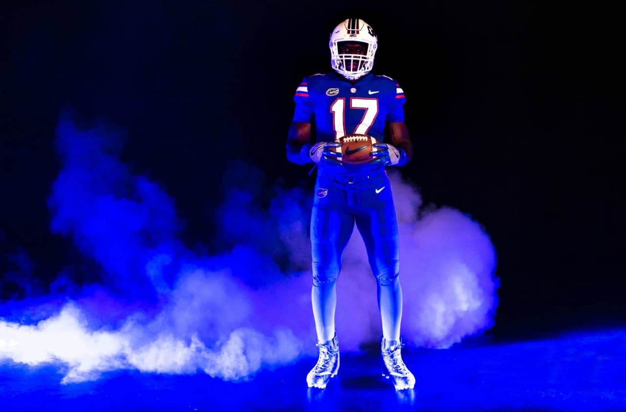 best loved f834d 80c5d Nike unveils new uniforms for Florida Gators game vs ...