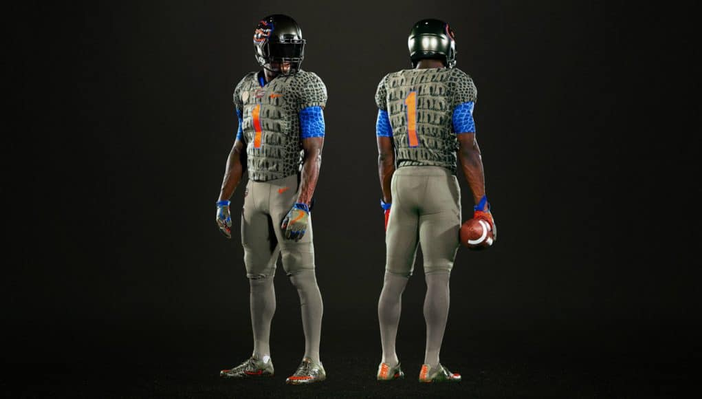 6b3965f6820c How the Gators alternate uniforms came to be