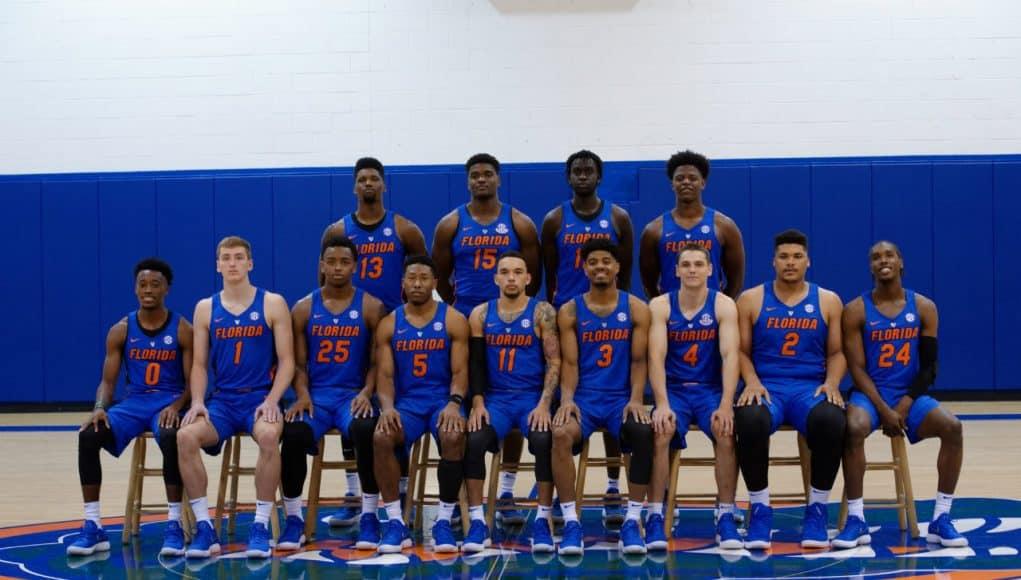 2017-18 Florida Gators basketball team at media day- 1280x852