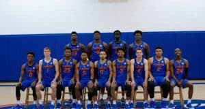 2017-18 Florida Gators basketball team at media day- 1280x852