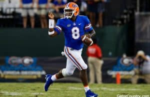 Florida Gators quarterback Malik Zaire runs against Georgia- 1280x853