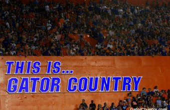 Florida Gators sign in the Swamp in 2017- 1280x853