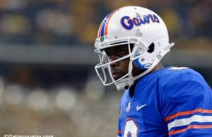 University of Florida quarterback Malik Zaire warms up prior to the Florida Gators season opening game against the Michigan Wolverines- Florida Gators football- 1280x852