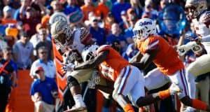 Florida Gators linebacker Vosean Joseph makes a tackle against FSU- 1280x853