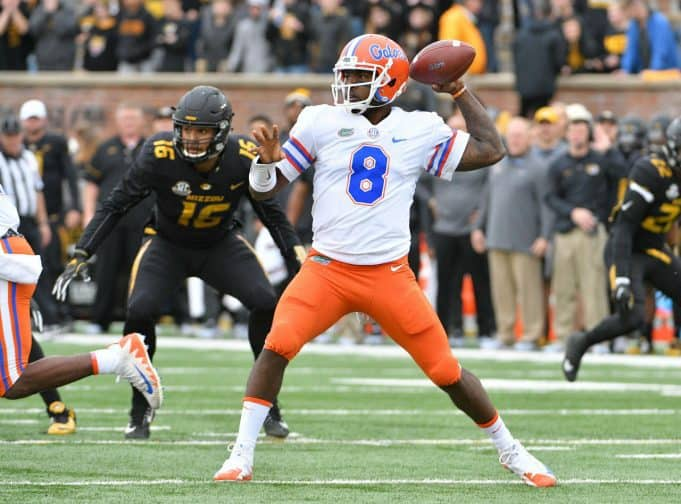Florida Gators quarterback Malik Zaire throws against Missouri-1280x948
