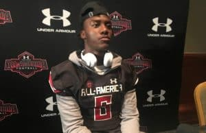 Florida Gators QB signee Emory Jones at Under Armour check-in-1280x960