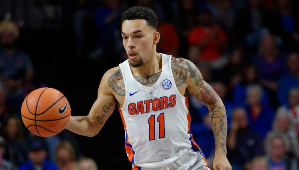 Florida Gators point guard Chris Chiozza in 2017- 1280x853