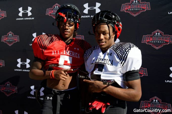 Florida Gators quarterback signee Emory Jones and WR target Jacob Copeland- 1280x853