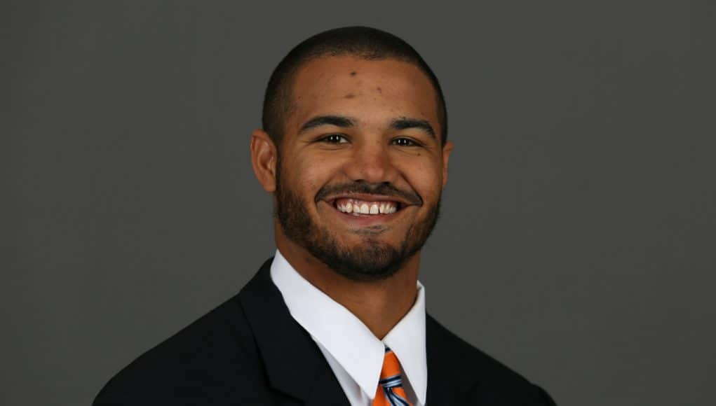 University of Florida linebackers coach Christian Robinson / Photo courtesy of University of Florida Communications