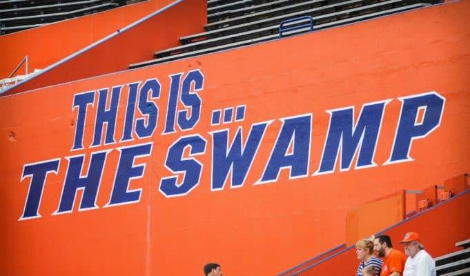 The Swamp sign inside Ben Hill Griffin Stadium- 1280x850