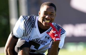 University of Florida recruit Jacob Copeland poses after practice during the Under Armour All-American game week- Florida Gators recruiting- 1280x853