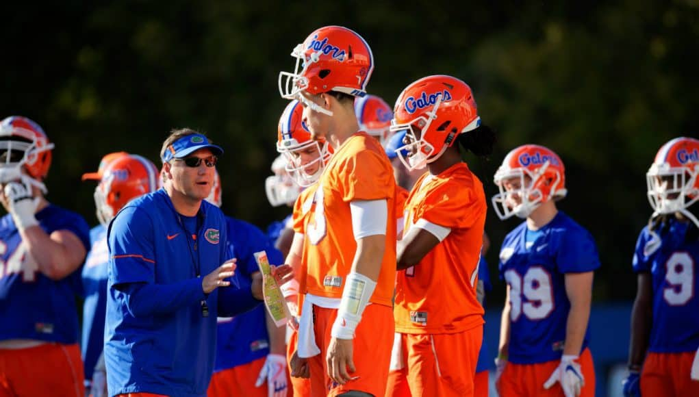 Florida Gators first spring practice notebook | GatorCountry.com