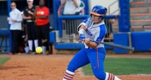 Florida Gators leftfielder Amanda Lorenz against Maryland- 1280x853