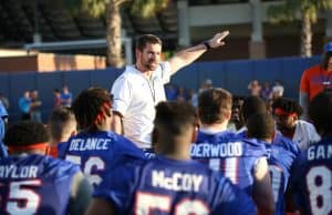 University of Florida strength and conditioning coach Nick Savage - photo by Alex de la Osa - UAA Communications