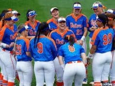 The Florida Gators softball team prepares for Texas A&M in SEC play- 1280x853