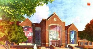 UF Football Operations Building Conceptual Rendering / UAA Communications