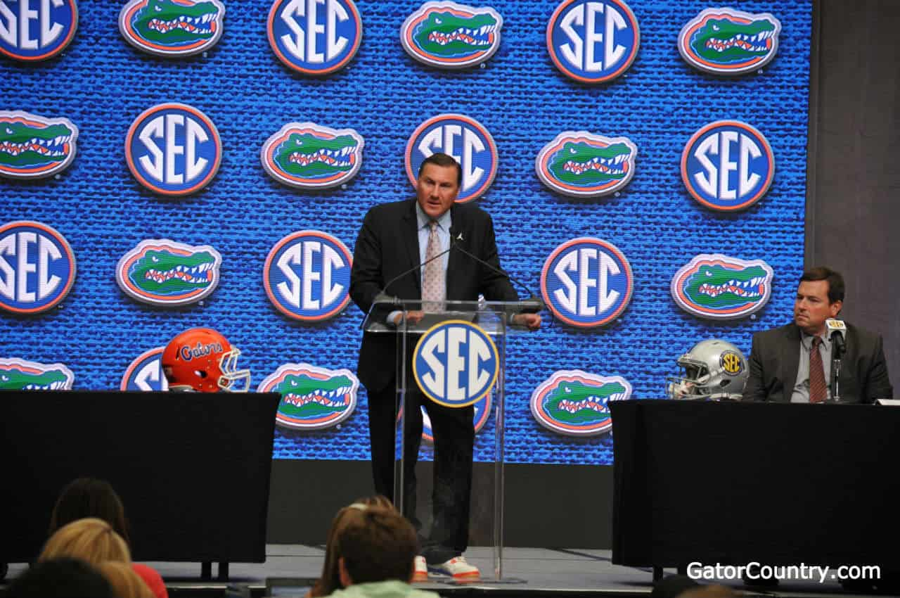 Florida-gators-head-coach-dan-mullen-speaks-at-sec-media-days-1