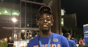 Florida Gators athlete commit Diwun Black at the Swamp-1280x960