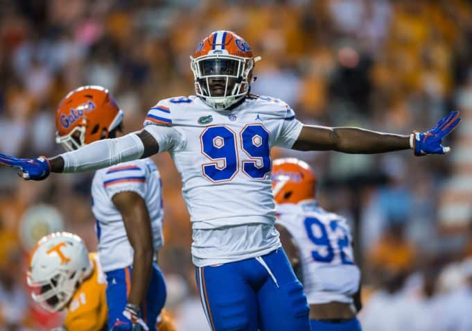 Florida Gators defensive lineman Jachai Polite against Tennessee- 1280x896