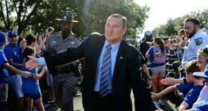 Florida Gators head coach Dan Mullen at Gator Walk- 1280x853