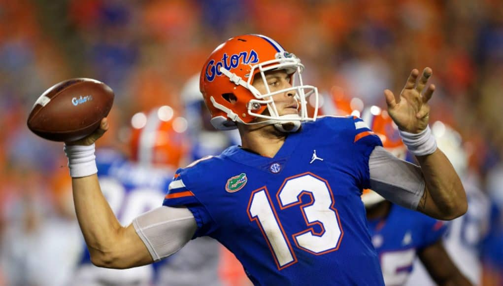 Florida Gators quarterback Feleipe Franks against Kentucky-1280x853