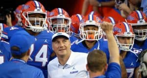 The Florida Gators enter the Swamp before the Charleston Southern game- 1280x853