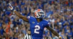 Defensive back Brad Stewart celebrates his pick six against LSU- 1280x853