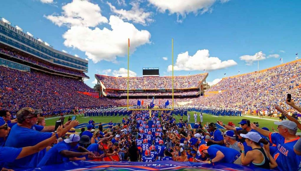 Uf Home Football Schedule 2020.Florida Gators 2020 Football Schedule Gatorcountry Com