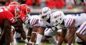 Florida Gators defensive tackle Kyree Campbell against Georgia- 1280X853