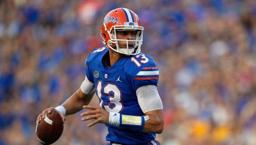 Florida Gators quarterback Feleipe Franks against LSU in 2018-1280x853