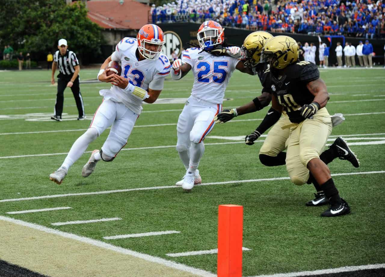 Florida-gators-quarterback-feleipe-franks-runs-against-vanderbilt