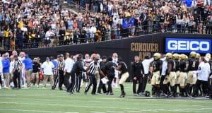 Vanderbilt and the Florida Gators argue on the field- 1280x748